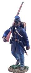 William Britain 31086 American Civil War U.S. Colored Troops Marching No.1
