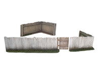 WBritain Soldier Accessory 17920 Plank Fence   Gate And Two Corner Sections