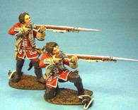 John Jenkins Designs Soldiers QB-21 British Line Infantry Firing Bare Headed