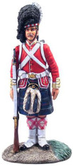 W Britain Toy Soldier Museum Collection 10030 Highlander, 78th (Ross-shire Buffs) Highland Regiment of Foot, 1869
