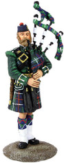 W Britain Toy Soldier Museum Collection 10042 78th Highland Regiment Piper, 1870