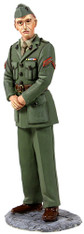 W Britain Jack Tars & Leathernecks 13003 U.S. Marine in Green Winter Service Dress, WWII