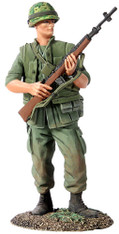 W Britain Toy Soldier Jack Tars & Leathernecks 13008 U.S. Marine, Vietnam War, 1966-68 No.1
