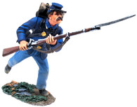 William Britain 31127 American Civil War Union Infantry in Sack Coat Charging No.6