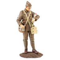 W Britain Toy Soldier Jack Tars & Leathernecks 13022 U.S.N. Corpsman, 1917-18 No.1