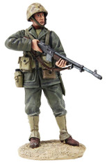 W Britain Toy Soldier Jack Tars & Leathernecks 13027 U.S. Marine with BAR 1943-45 No.1