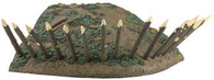 WBritain Toy Soldier Accessory 51027  Redoubt Section Corner With Base Cut Outs