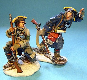 John Jenkins Designs JJCLUBSET4 Ensign Durantaye and Cadet Richelieu Limited edition 1/30 Collectible