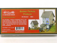 JL Innovative Design 641 Booker Perkins Produce Building Kit HO Scale Trains