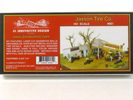 JL Innovative Design 661 Jaxson Tire Co Building Kit HO Scale Model Trains
