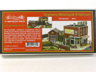 JL Innovative Design 621 Graham Motorcycle Emporium Building Kit HO Scale Trains