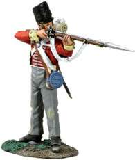 W Britain Collectible Toy Soldiers Napoleonic 36104 British 44th Regiment Battalion Company Standing Firing No 1