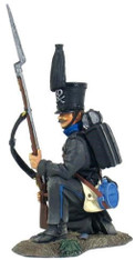 W Britain Collectible Toy Soldiers Napoleonic 36116 Brunswick Leib Battalion Kneeling Defending No 1