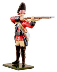 W Britain Redcoats 47048 British 60th Regiment Of Foot Grenadier