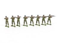 Authenticast Set 309 US Marines Standing Firing World War II 1946