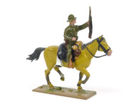 Quartermaster Corps Mounted Trooper with Carbine US Cavalry World War I