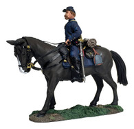 W Britain 31276 American Civil War Federal Infantry Officer Mounted