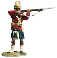 W Britain 27076 War Along the Nile 42nd Highland Standing Firing