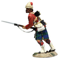 W Britain 27075 War Along the Nile 42nd Highland Bayonet Leveled