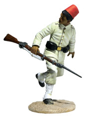 W Britain 27071 War Along the Nile Egyptian Infantryman Running Looking Back