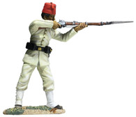 W Britain 27069 War Along the Nile Egyptian Infantryman Standing Firing