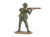Quartermaster Corps British Infantry Standing Firing World War I