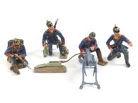 Quartermaster Corps German 75th Bremen Regiment Machine Gun Team