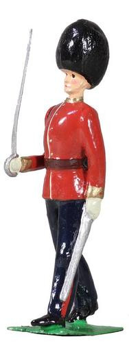 W Britain Archive Collection 49036 British Scots Guards Officer Marching