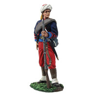 W Britain 31263 American Civil War Union Infantry Federal Infantry 114th Pennsylvania Zouaves Reaching for Cartridge No.1