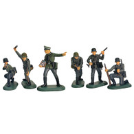W Britain Toy Soldiers Super Deetail Plastic 52007 WWII German Infantry Set No.1