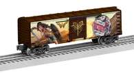 6-84616 Wonder Woman Boxcar by Lionel O Scale Model Railroad side one