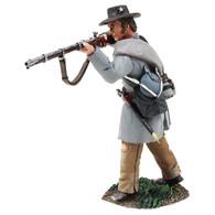 W Britain American Civil War 31257 Confederate Infantry Texas Brigade Standing Firing No.3