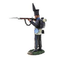 W Britain Napoleonic 36153 Brunswick Leib Battalion Standing Firing No.2