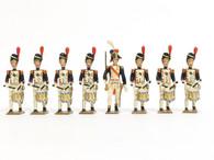 Mignot Toy Soldiers Grenadiers de la Garde 1812 Vintage Set 28B