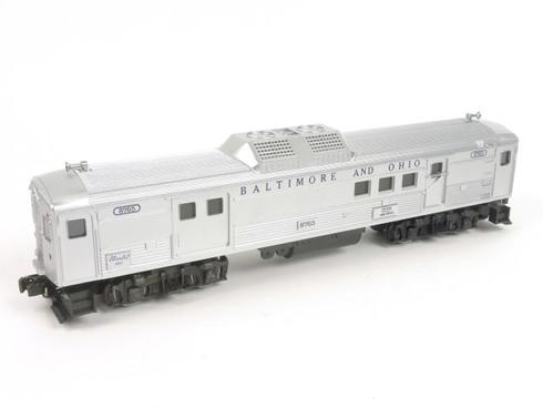 Lionel 6-8765 Baltimore Ohio Budd Baggage Car Dummy O Gauge O27 Model Trains