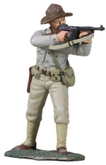 W Britain Soldier 10041   U.S. Marine Banana Wars Marine 1920s