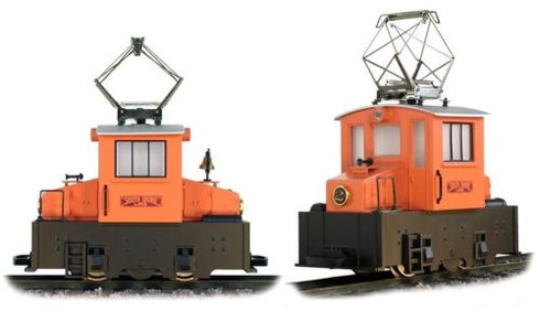 Hartland Locomotive Works South Shore Line Sparky Switcher 09722 G Scale Trains
