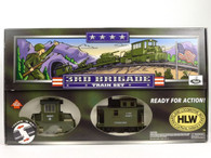 Hartland Locomotive Works 3rd Brigade Army Train Set 10201S G Scale
