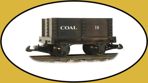 Hartland Locomotive Works Coal Mini Gondola 15113 G Scale Model Trains
