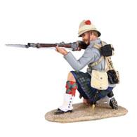 W Britain 27062 War Along the Nile 42nd Highlander Kneeling Firing