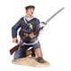 W Britain 27060 War Along the Nile British Naval Brigade Sailor Kneeling Loading