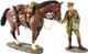 W Britain 23063 World War I British Lancer Feeding Horse 1916-1918