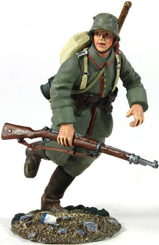 W Britain 23058 World War I 1916-18 German Infantry Pioneer Running