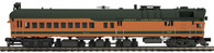 MTH O Scale Premier 20-20339-1 DC-3 Rail Inspection Car with Proto-Sound 3.0