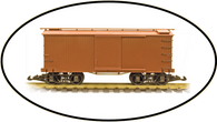Hartland Locomotive Works 04004 Box Car Undecorated G Gauge