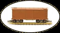 Hartland Locomotive Works 04004 Box Car Undecorated G Gauge