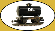 Hartland Locomotive Works Oil Tank Car 15411 G Scale Model Trains Railroads