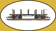 Hartland Locomotive Works Flat Car, Undecorated 01004 G Scale