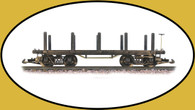 Hartland Locomotive Works Flat Car, Undecorated 01004 G Scale