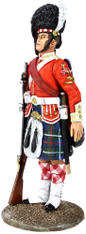 W Britain Toy Soldier Museum Collection 10047 78th Highland Regiment NCO, 1870